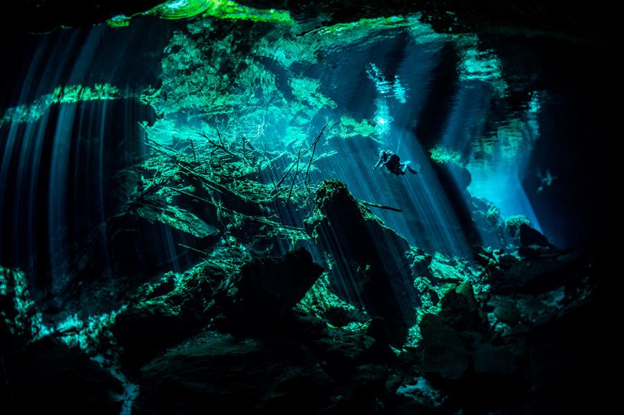 Best Scuba Diving Destinations For Open Water Divers In The Caribbean Sea - cenotes