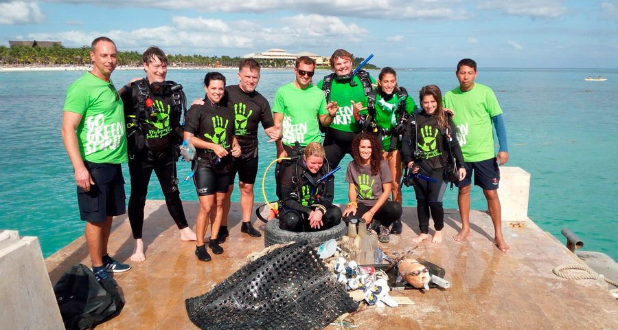 clean up puerto aventuras