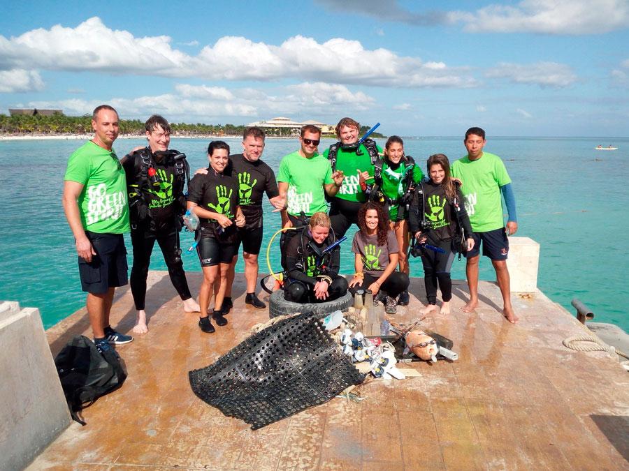 clean up puerto aventuras