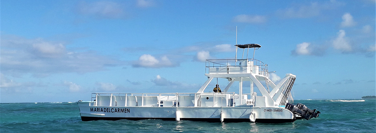 Catamaran tour in Punta Cana - slide