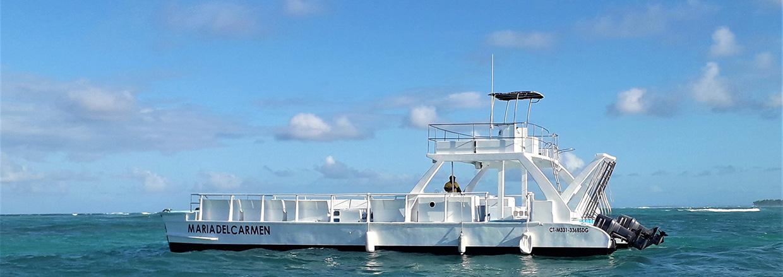 Catamaran tour in Punta Cana - slide