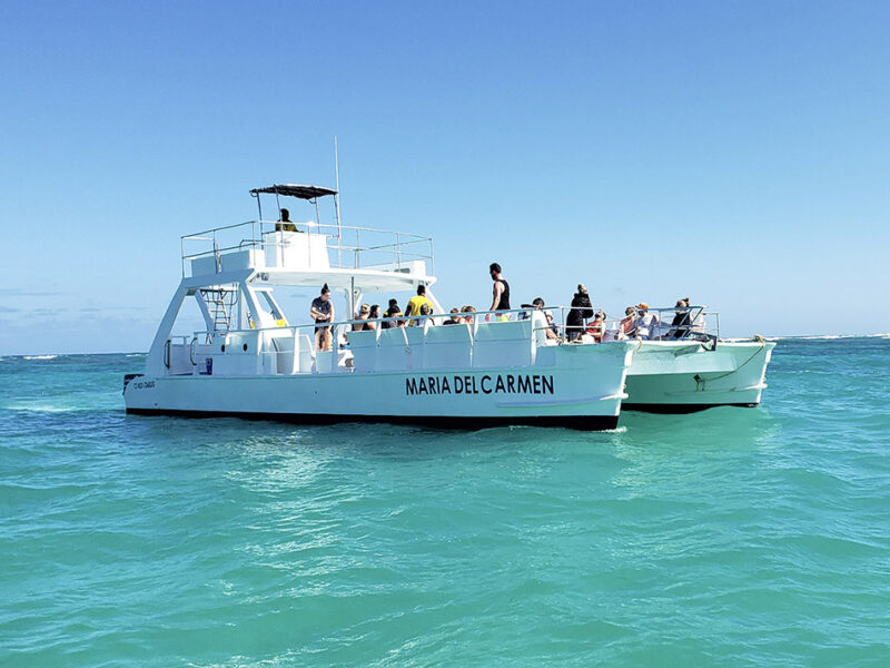 Catamaran tour in punta cana - 1