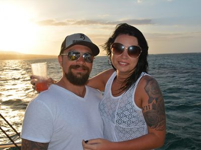 Catamaran wedding in Montego Bay - 2