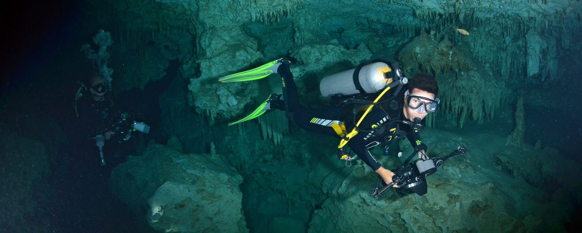 Cave Diving In Mexico - Dressel Divers