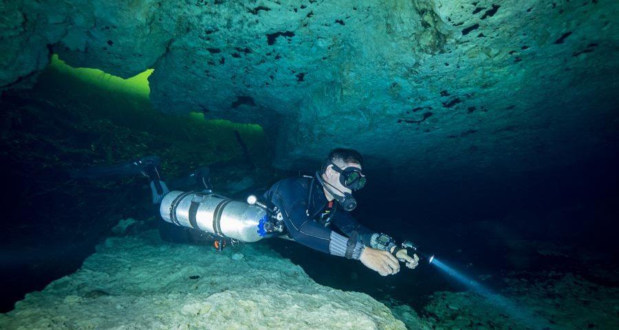 Cave diving certification - principal