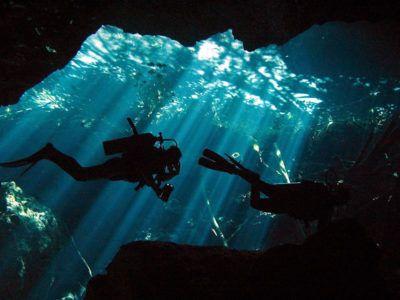 submarinismo cenotes
