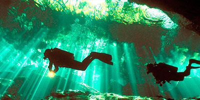Cenotes (Cavern) Diving Excursions
