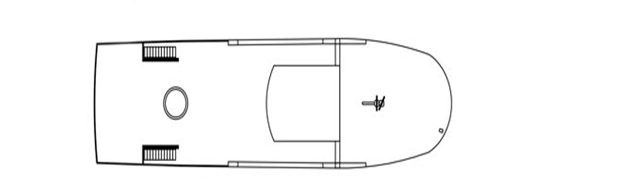 Cuba liveaboard diving - sun deck plan