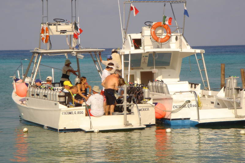 Dive Boat Cozumel