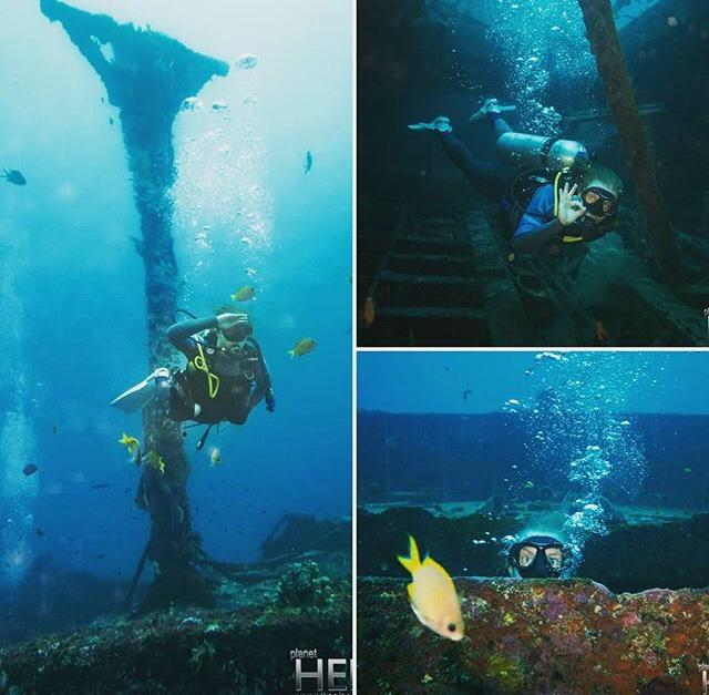 Dive Instructor In Montego Bay - collage