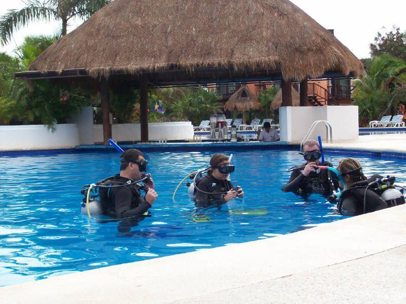 diving instructor work