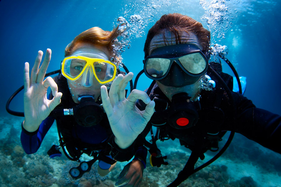Diving instructions - 3