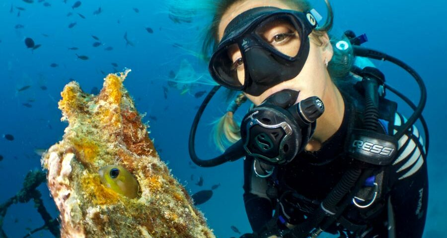 Diving without wetsuit - bucear sin neopreno - 4