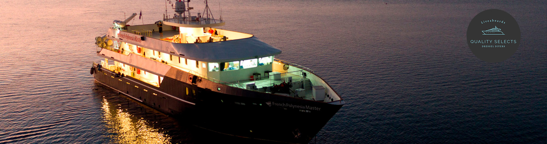 French Polynesia Liveaboard Diving - dusk