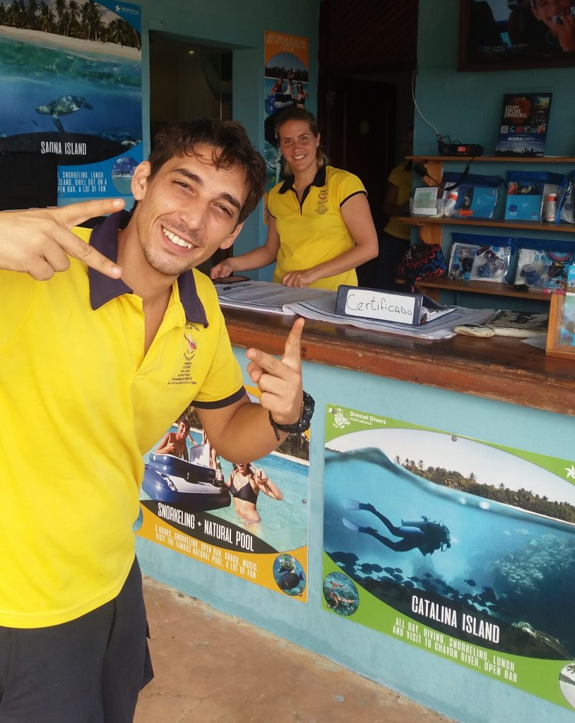 Karim Khamis, Dressel Divers base leader in Bavaro