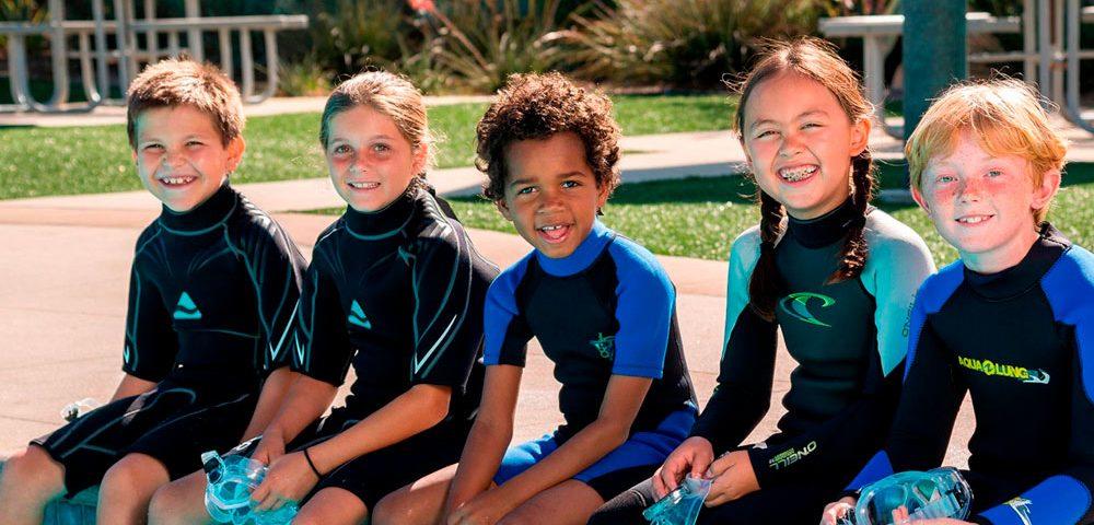 Limitaciones de edad para el buceo - principal
