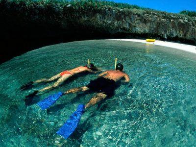 activités îles marieta