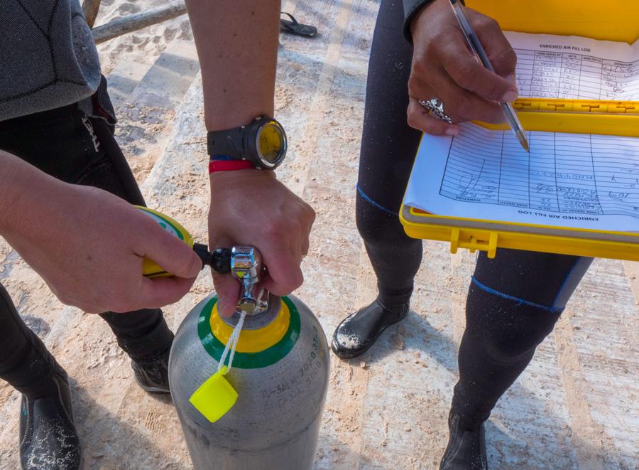 PADI Enriched Air Diver - dressel
