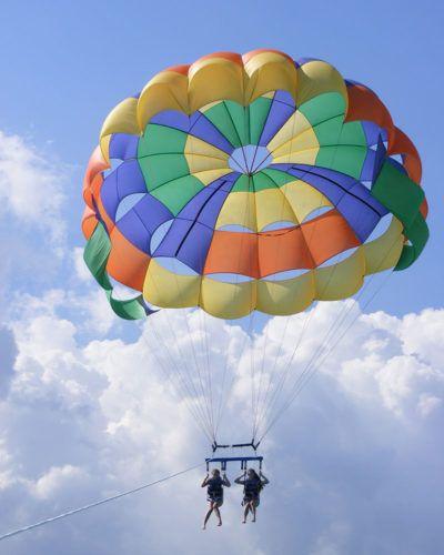 parasailing watersports
