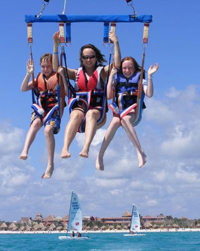 mexico parasailing