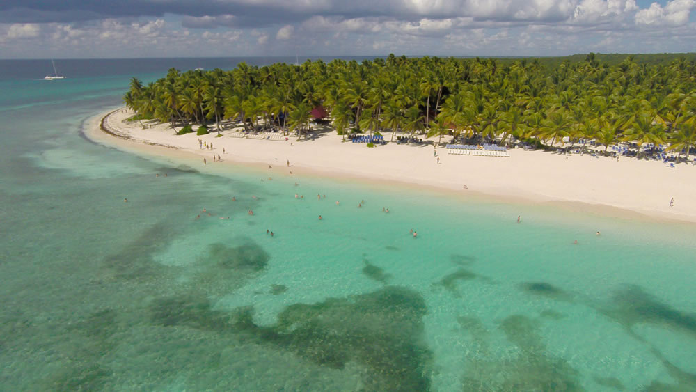 best places to visit in the Dominican Republic - Isla Saona