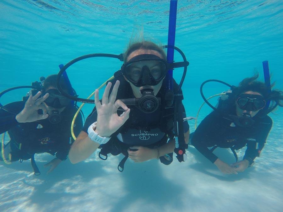Refresher scuba course - 2