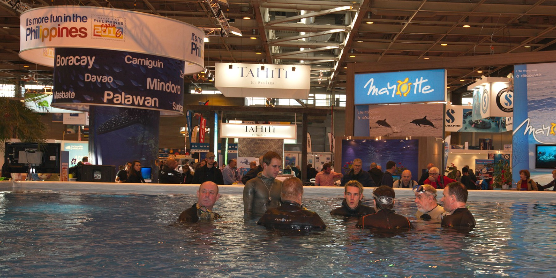 The 6 best dive shows in the world for Salon de la photo paris