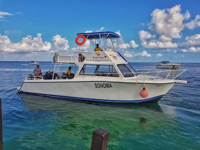 Scuba Diving Montego Bay- Boat