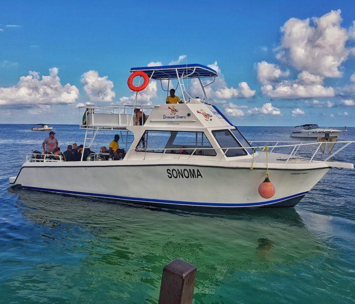 Scuba Diving Montego Bay- Boat