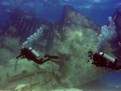 Scuba Diving Punta Cana Astron Wreck