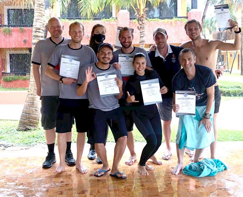 Scuba training - entrenamiento de buceo