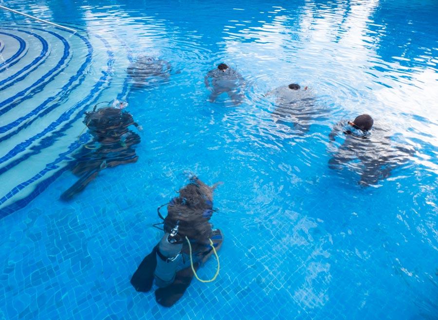 Scuba training - entrenamiento de buceo - 2