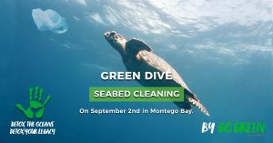 Seabed cleaning in Jamaica - main