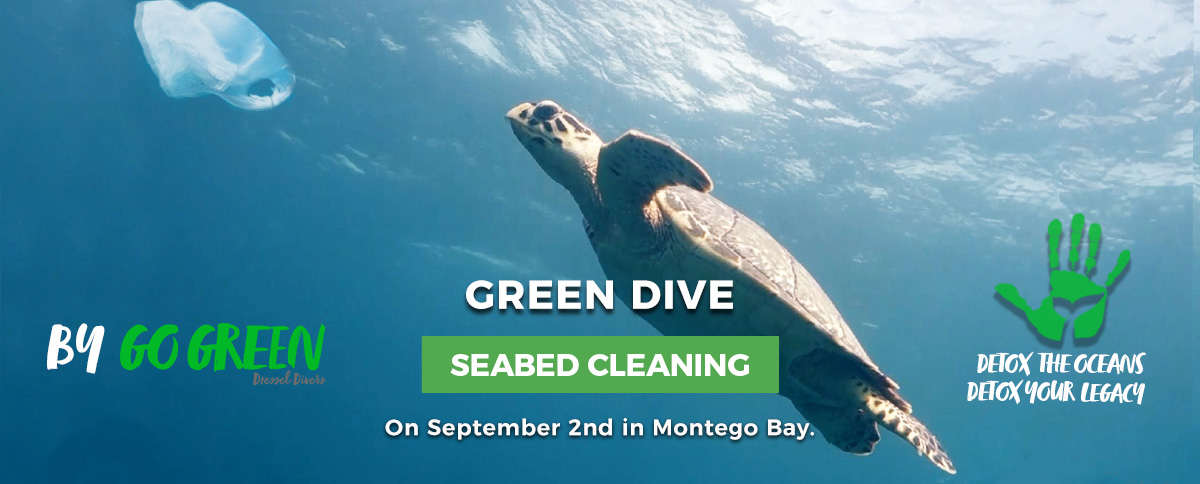 Seabed cleaning in jamaica - slide