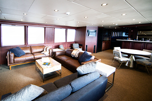 Socorro liveaboard diving - dinning room