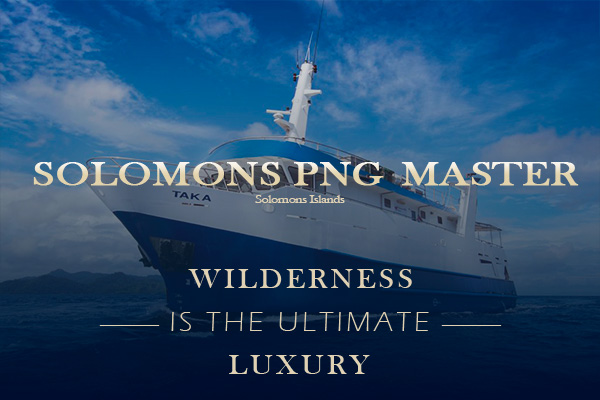 Solomon Islands liveaboard - master