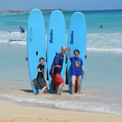 mexico surf lesson
