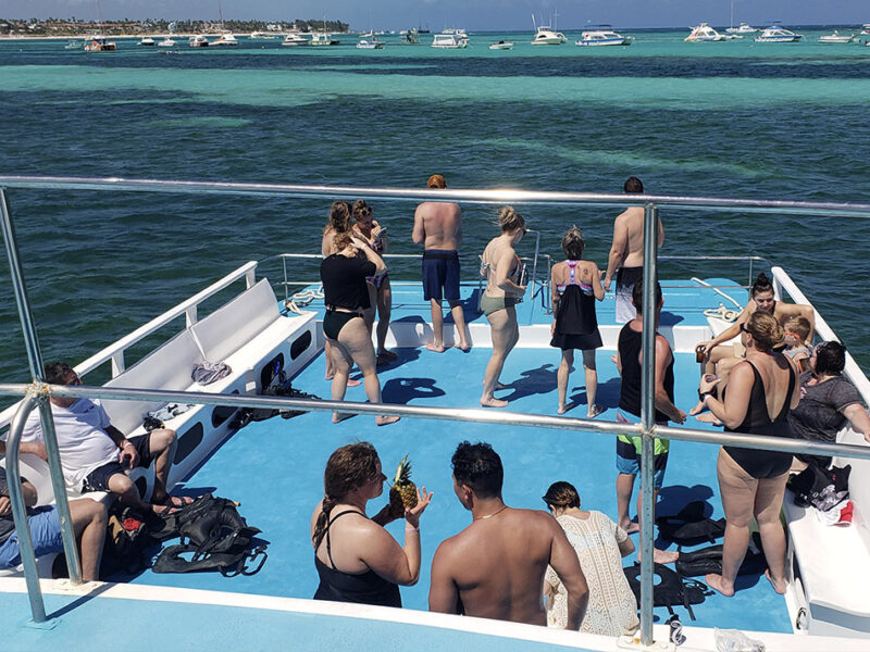 Tour in catamarano a Punta Cana - 5