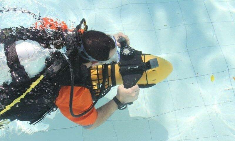 Underwater thrusters - underwater scooters