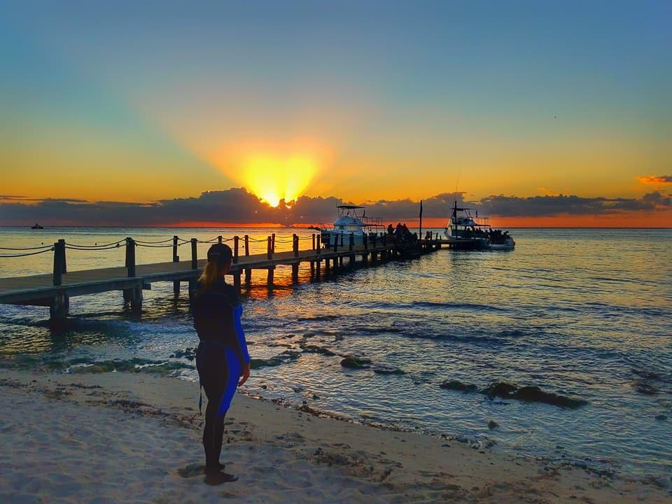 Vacaciones Romanticas Para Buceadores - Cozumel