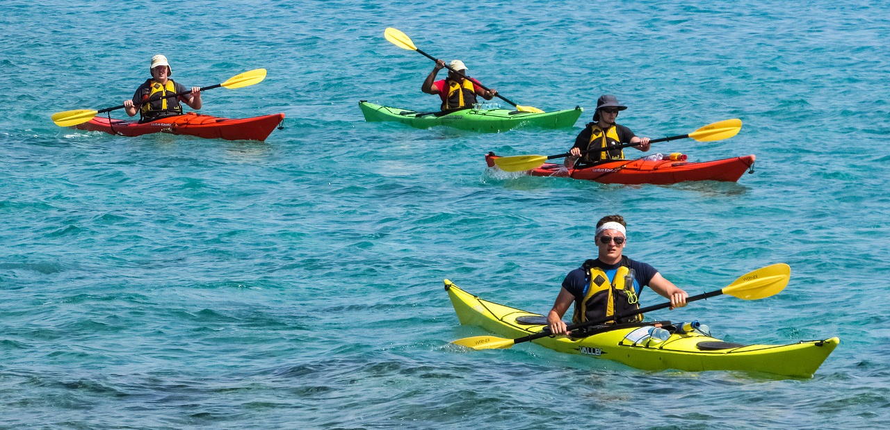 Water sports activities - Kayaking