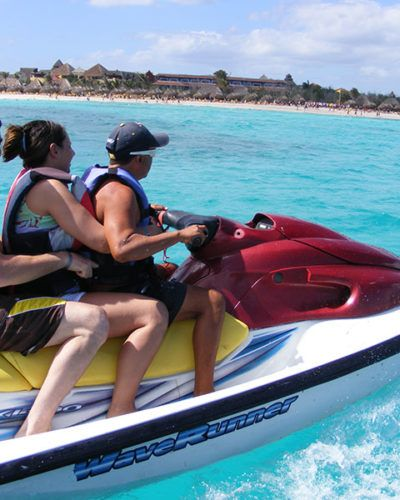 Motorrad Wasser mexiko