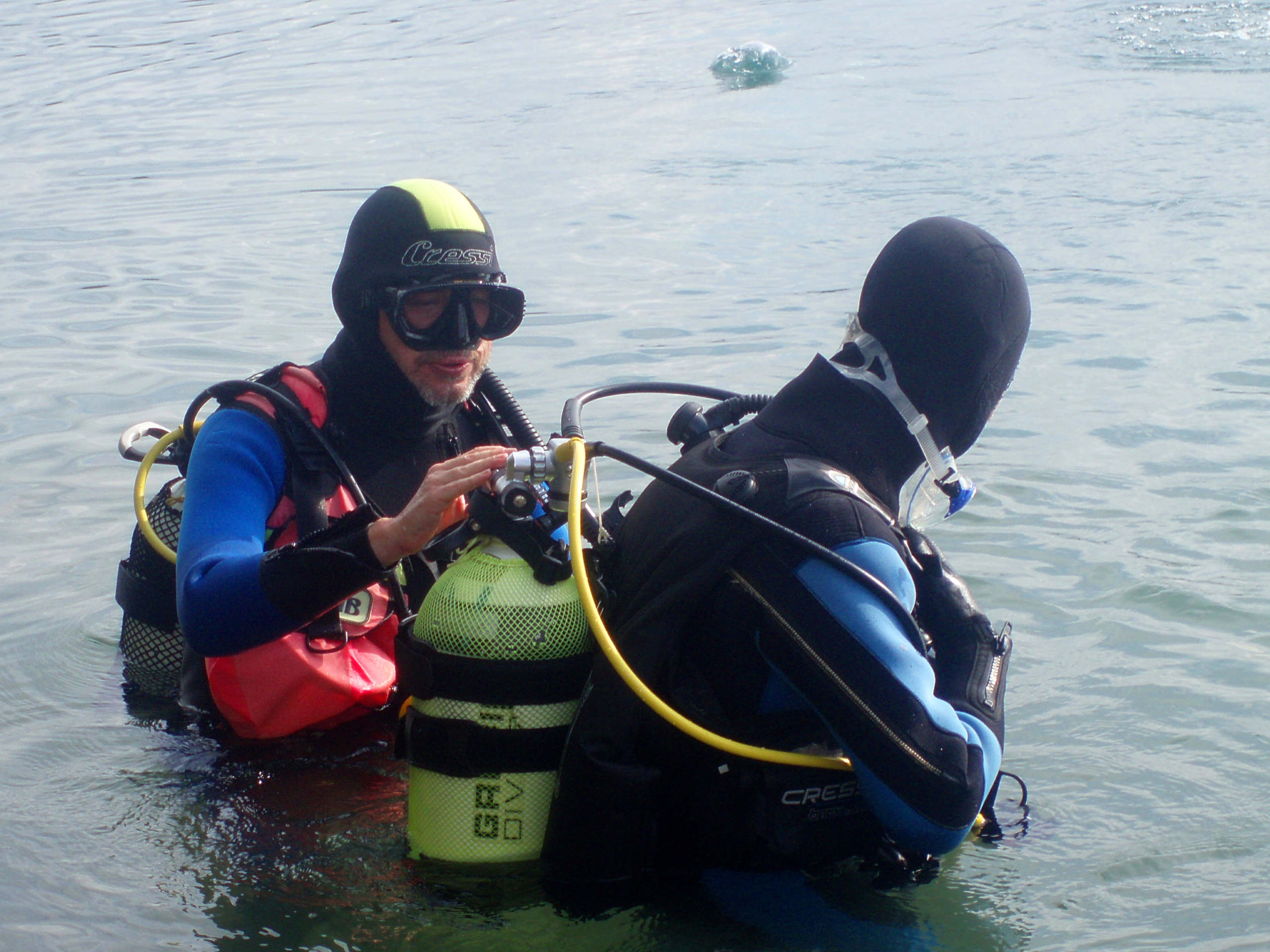 best scuba diving tips - security check