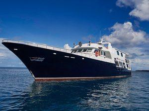 bikini atoll livebaoard diving - Truk Master vessel