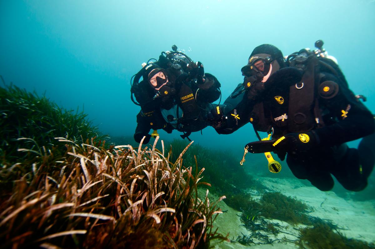 buceo con rebreather - mita