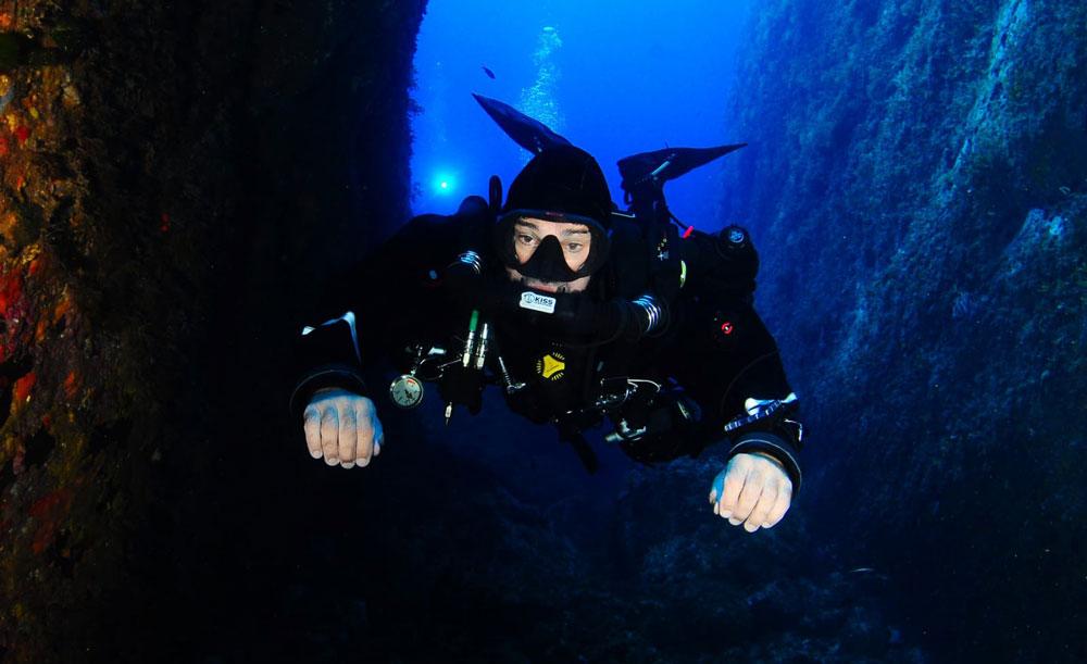 buceo con rebreather - victor cordoba