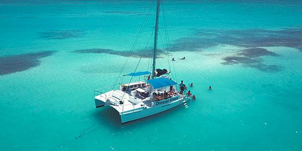 catamaran bloque