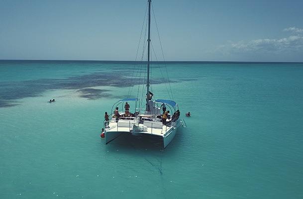 Catamaran Party in Montego Bay - Dressel Divers