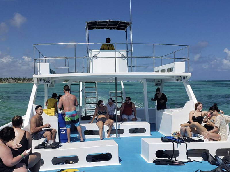 catamaran tour in punta cana - 2