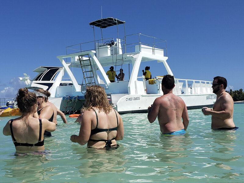 catamaran tour in punta cana - 4